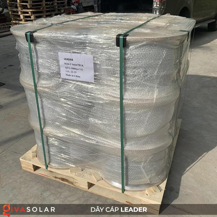 Dây cáp điện năng lượng mặt trời Leader 4mm2 6mm2 22