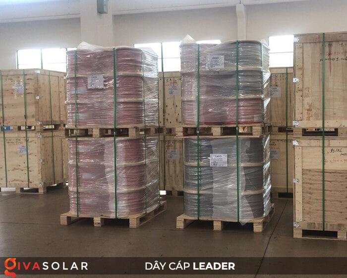 Dây cáp điện năng lượng mặt trời Leader 4mm2 6mm2 23