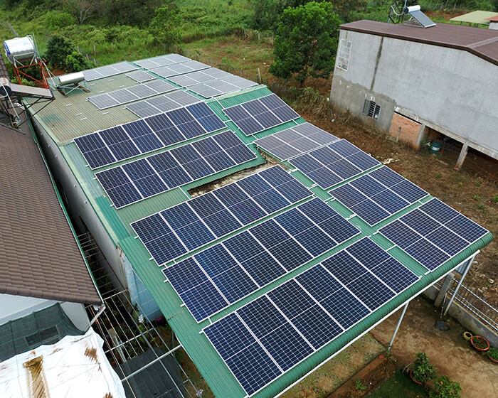 Hệ thống hòa lưới 30KW cho anh Hùng ở Đắk Nông 10