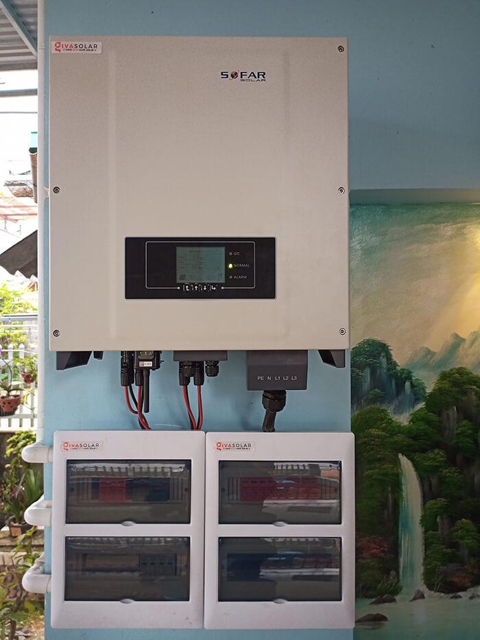 Hệ thống hòa lưới 30KW cho anh Hùng ở Đắk Nông 11