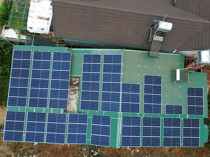 Hệ thống hòa lưới 30KW cho anh Hùng ở Đắk Nông 2