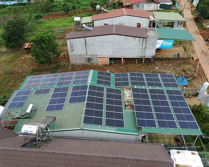 Hệ thống hòa lưới 30KW cho anh Hùng ở Đắk Nông 3