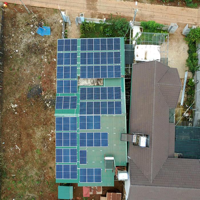Hệ thống hòa lưới 30KW cho anh Hùng ở Đắk Nông 4