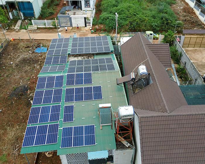 Hệ thống hòa lưới 30KW cho anh Hùng ở Đắk Nông 5