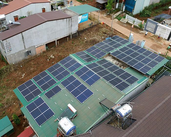 Hệ thống hòa lưới 30KW cho anh Hùng ở Đắk Nông 6