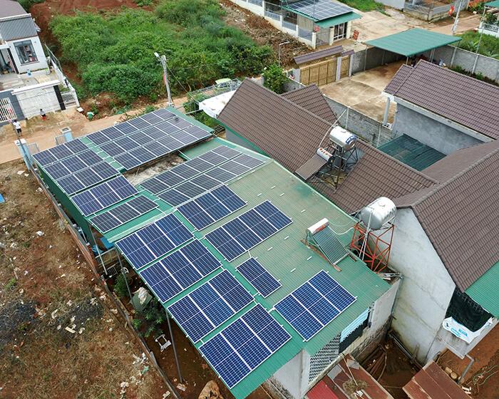 Hệ thống hòa lưới 30KW cho anh Hùng ở Đắk Nông 7