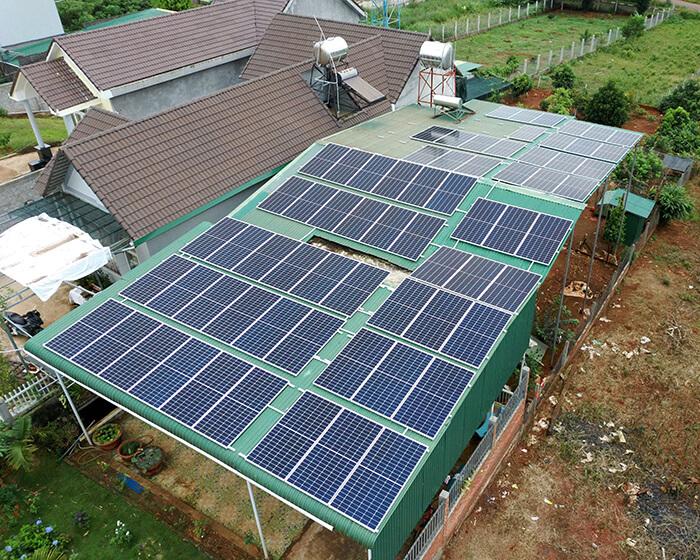 Hệ thống hòa lưới 30KW cho anh Hùng ở Đắk Nông 8