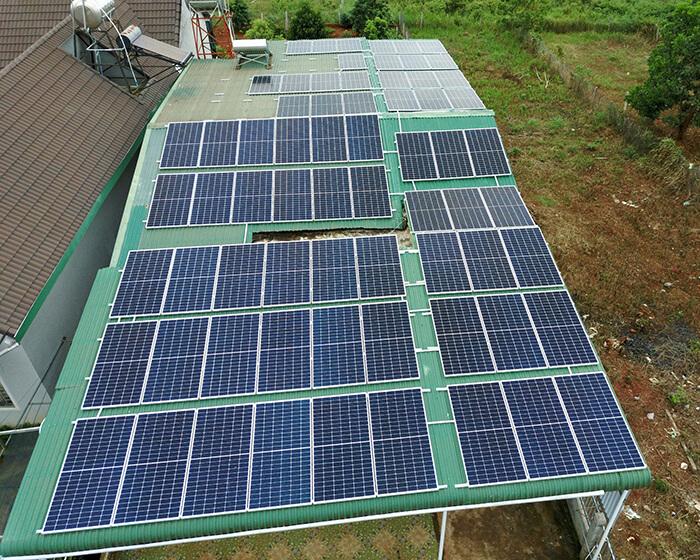 Hệ thống hòa lưới 30KW cho anh Hùng ở Đắk Nông 9