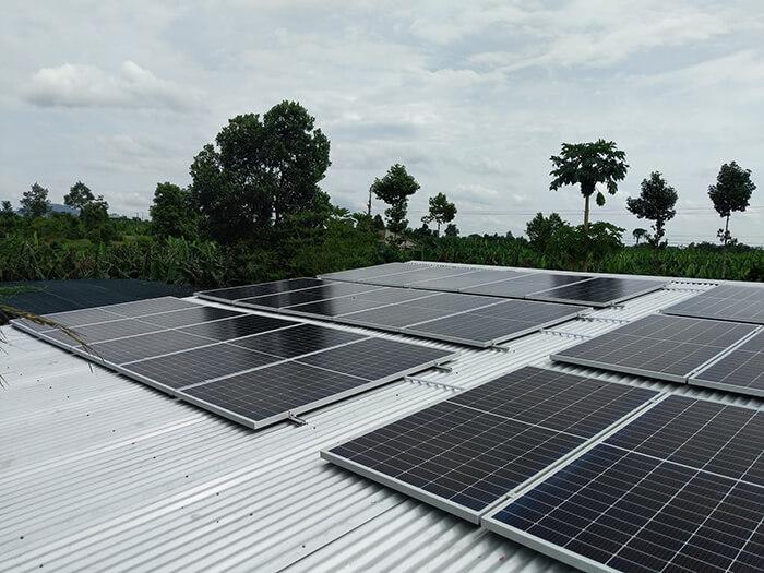 dự án hòa lưới 10KW cho gia đình anh Long ở Đồng Nai 10