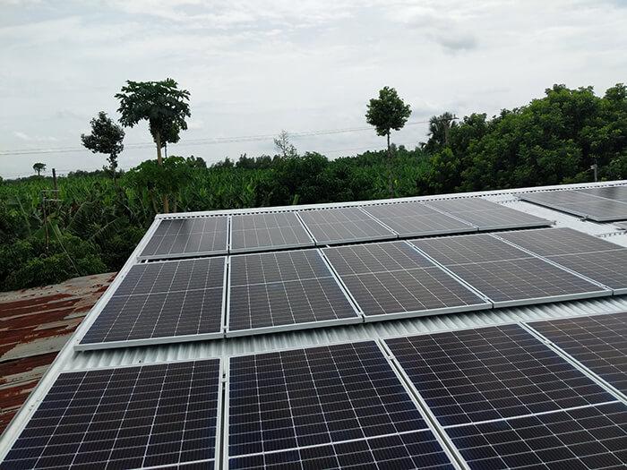 dự án hòa lưới 10KW cho gia đình anh Long ở Đồng Nai 11