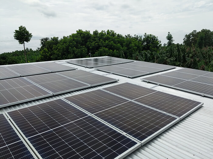 dự án hòa lưới 10KW cho gia đình anh Long ở Đồng Nai 12