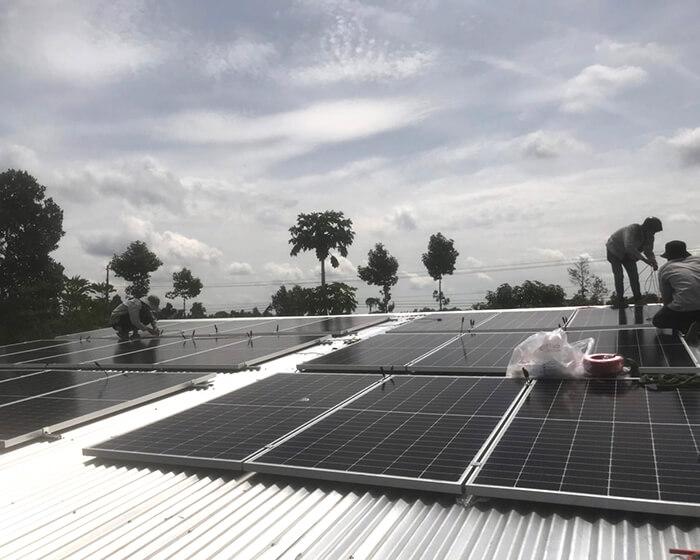 dự án hòa lưới 10KW cho gia đình anh Long ở Đồng Nai 4