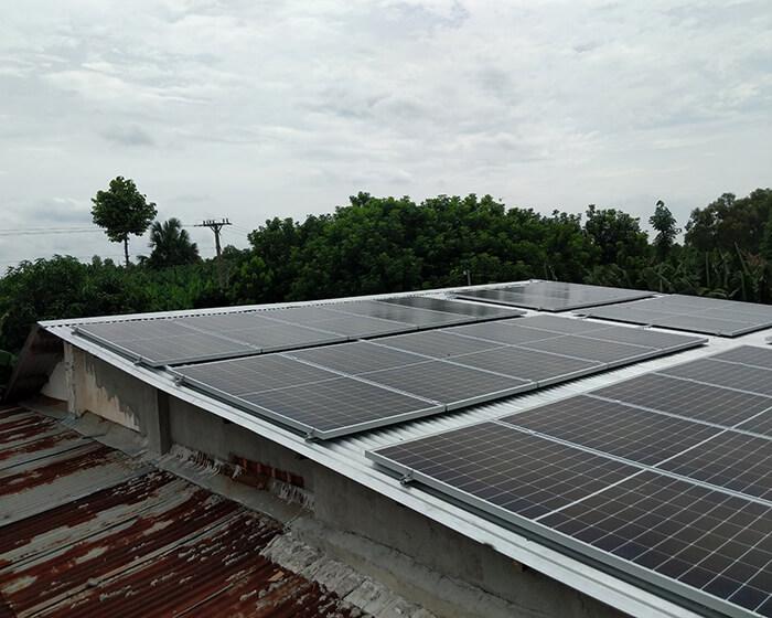 dự án hòa lưới 10KW cho gia đình anh Long ở Đồng Nai 6