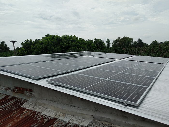 dự án hòa lưới 10KW cho gia đình anh Long ở Đồng Nai 7