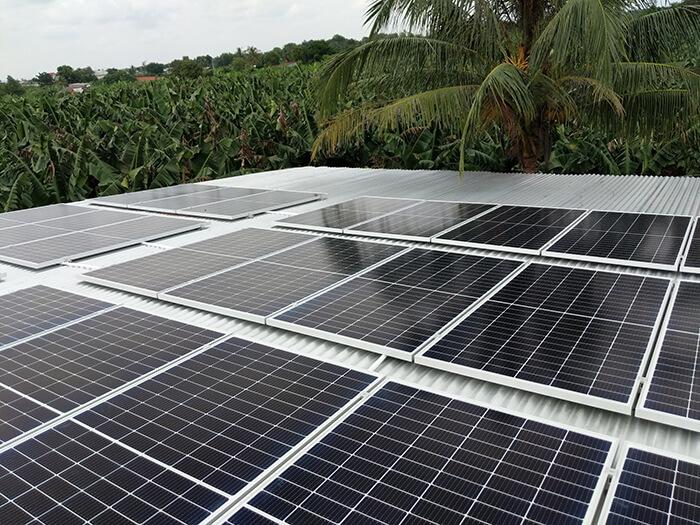 dự án hòa lưới 10KW cho gia đình anh Long ở Đồng Nai 8
