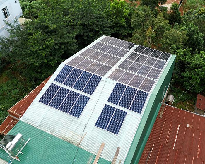 Hệ thống điện mặt trời hòa lưới 20KW cho anh Lĩnh đắk nông 5