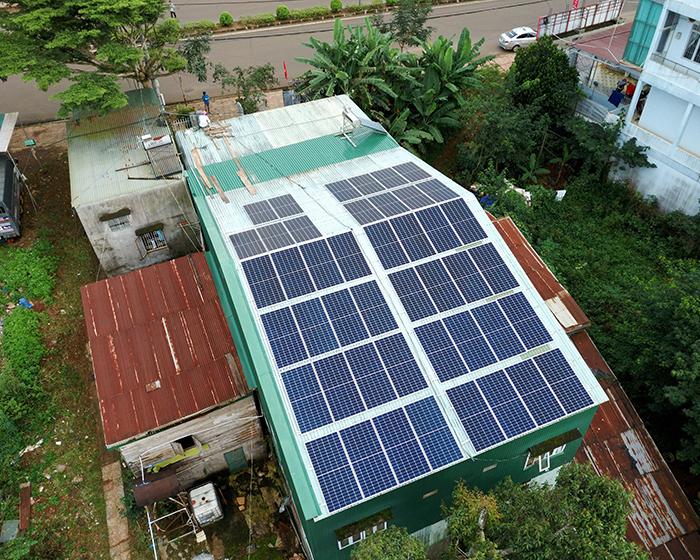 Hệ thống điện mặt trời hòa lưới 20KW cho anh Lĩnh đắk nông 7