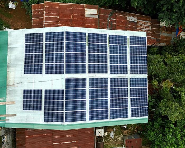 Hệ thống điện mặt trời hòa lưới 20KW cho anh Lĩnh đắk nông 8