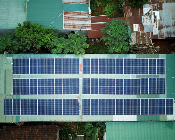 Hệ thống điện năng lượng hòa lưới 25KW của chị Phượng ở Đắk Nông 2
