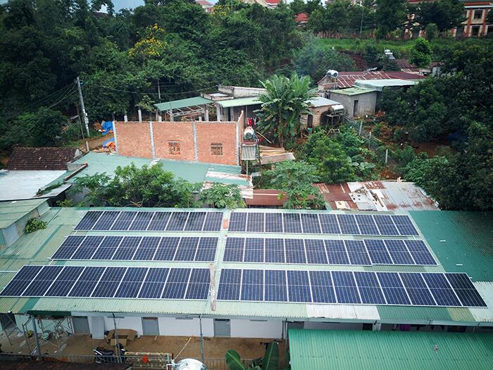 Hệ thống điện năng lượng hòa lưới 25KW của chị Phượng ở Đắk Nông 3