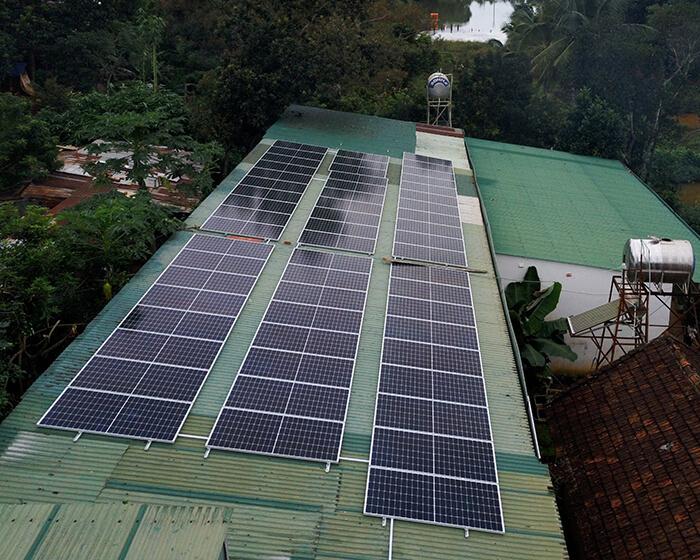 Hệ thống điện năng lượng hòa lưới 25KW của chị Phượng ở Đắk Nông 4