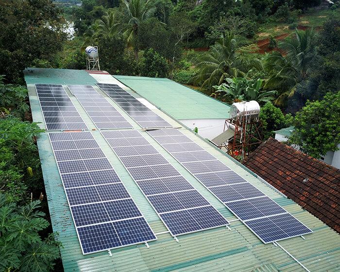 Hệ thống điện năng lượng hòa lưới 25KW của chị Phượng ở Đắk Nông 6