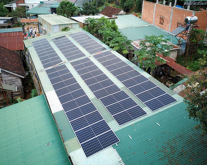 Hệ thống điện năng lượng hòa lưới 25KW của chị Phượng ở Đắk Nông 7