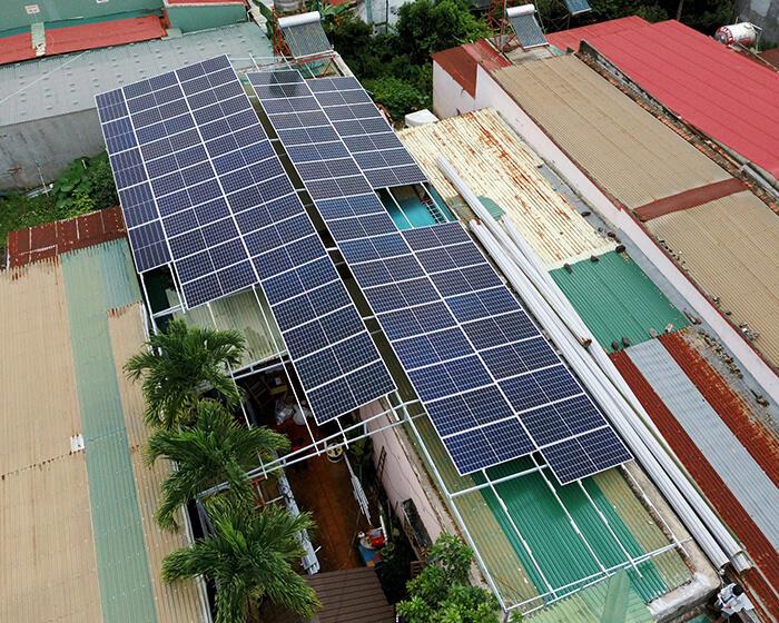 Hệ thống điện mặt trời hòa lưới 30KW cho anh Tuyên ở Đắk Nông 11