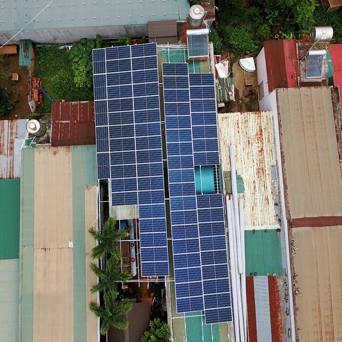 Hệ thống điện mặt trời hòa lưới 30KW cho anh Tuyên ở Đắk Nông 12
