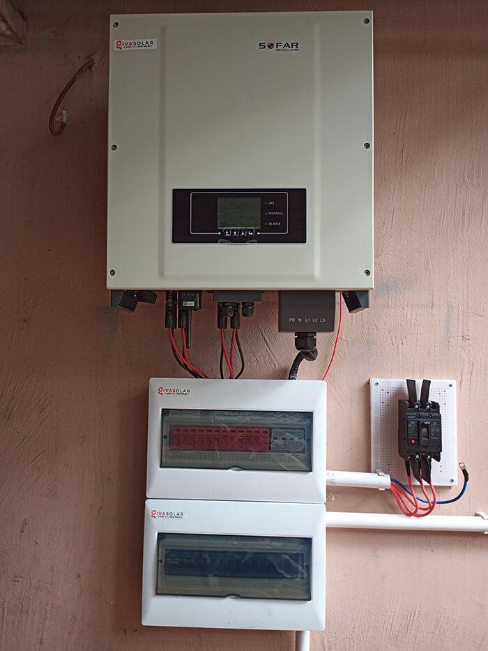 Hệ thống điện mặt trời hòa lưới 30KW cho anh Tuyên ở Đắk Nông 13
