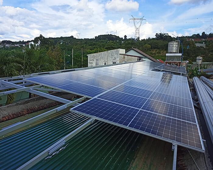 Hệ thống điện mặt trời hòa lưới 30KW cho anh Tuyên ở Đắk Nông 3