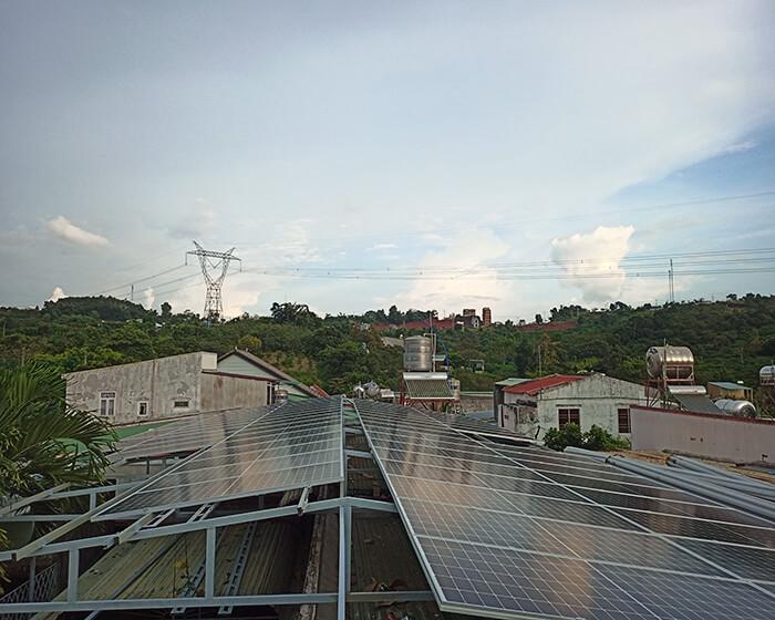Hệ thống điện mặt trời hòa lưới 30KW cho anh Tuyên ở Đắk Nông 4