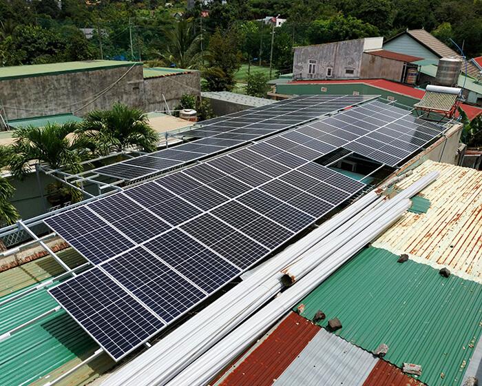 Hệ thống điện mặt trời hòa lưới 30KW cho anh Tuyên ở Đắk Nông 6