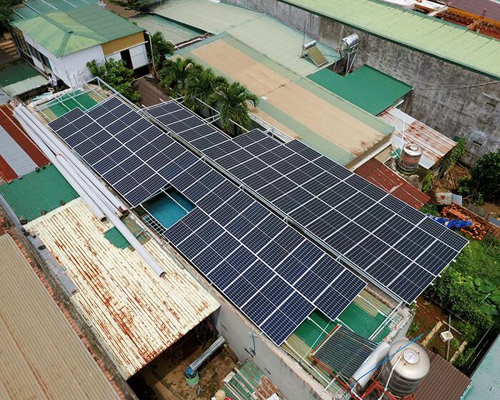 Hệ thống điện mặt trời hòa lưới 30KW cho anh Tuyên ở Đắk Nông 7