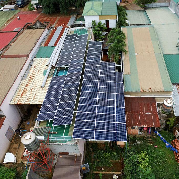 Hệ thống điện mặt trời hòa lưới 30KW cho anh Tuyên ở Đắk Nông 8