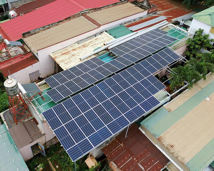 Hệ thống điện mặt trời hòa lưới 30KW cho anh Tuyên ở Đắk Nông 9