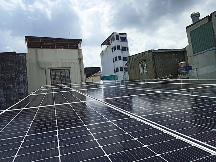 hệ thống năng lượng mặt trời hòa lưới 8KW cho cô Diệp ở Quận 10 4