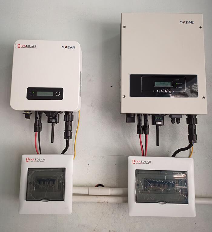 hệ thống năng lượng mặt trời hòa lưới 8KW cho cô Diệp ở Quận 10 6