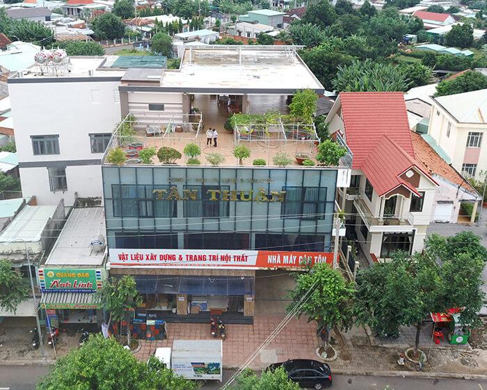 hệ thống nhà ở và nhà kho tổng công suất 30Kw cho anh Thuận ở BRVT 5