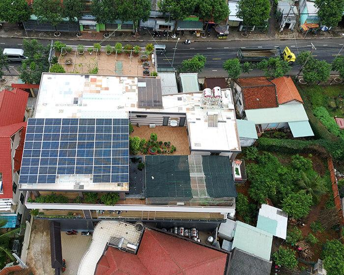 hệ thống nhà ở và nhà kho tổng công suất 30Kw cho anh Thuận ở BRVT 6