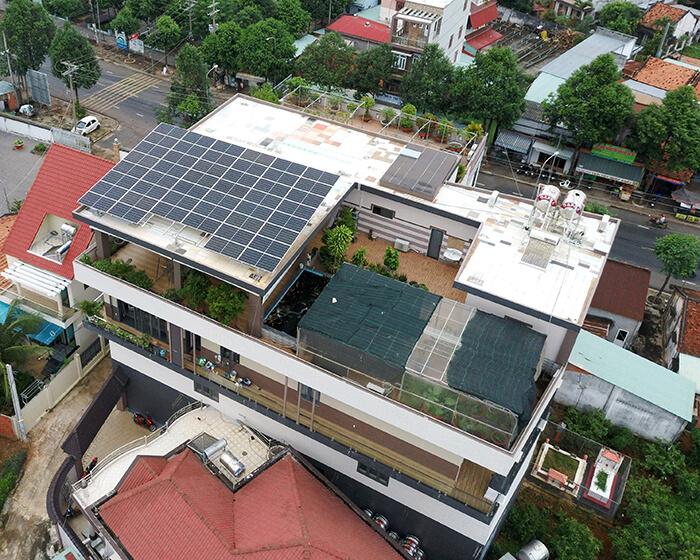 hệ thống nhà ở và nhà kho tổng công suất 30Kw cho anh Thuận ở BRVT 9