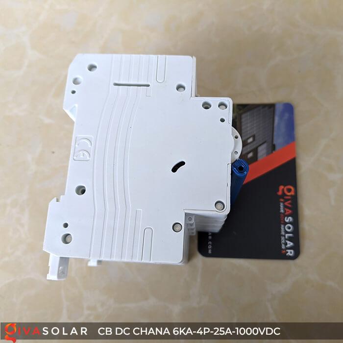 MCB DC CHANA 4P-6KA-25A-1000VDC EKM1-63DC 9