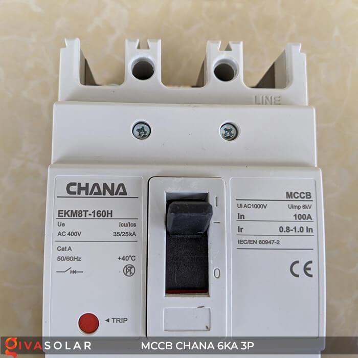 MCCB CHANA 3P EKM8T-160H 11