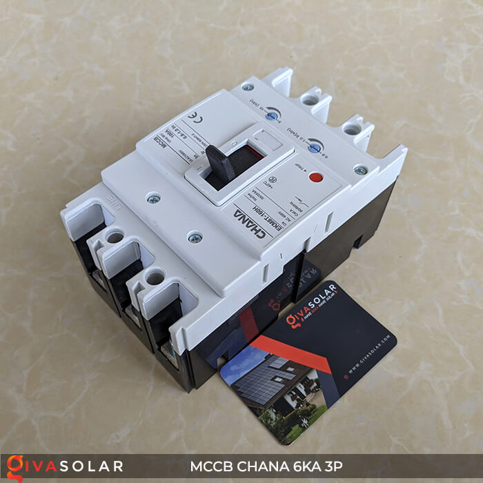 MCCB CHANA 3P EKM8T-160H 5