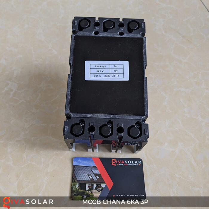 MCCB CHANA 3P EKM8T-160H 8