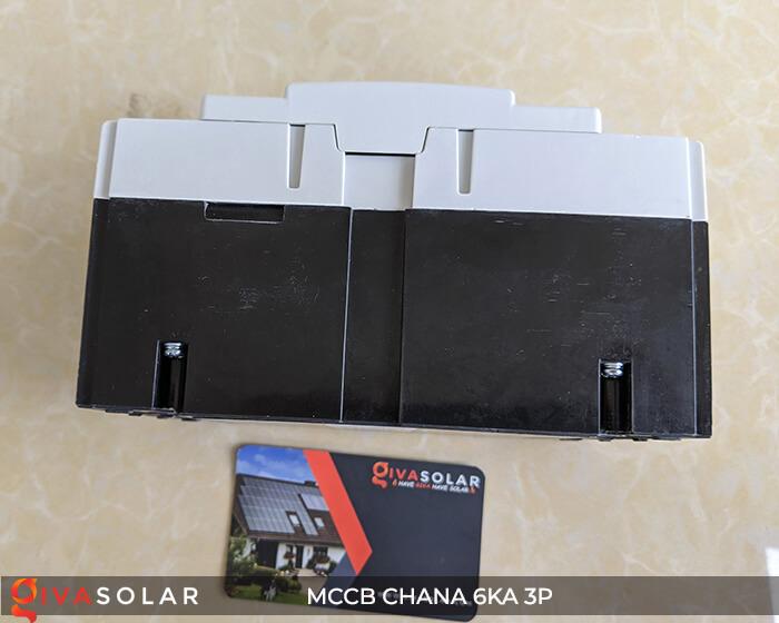 MCCB CHANA 3P EKM8T-160H 9