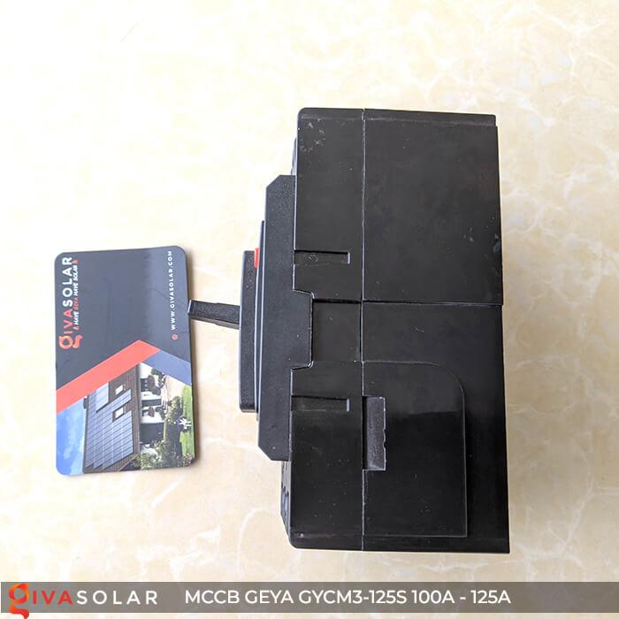MCCB của GEYA GYCM3-125SP/3300 3P 100A và 125A 9