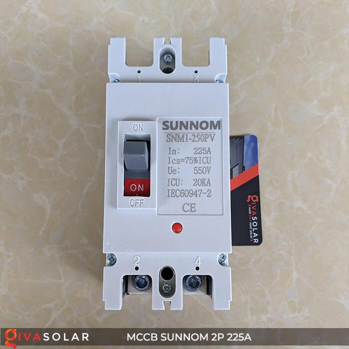 MCCB Sunnom 2P 225A 550VDC 1