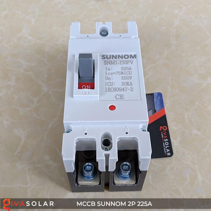 MCCB Sunnom 2P 225A 550VDC 2