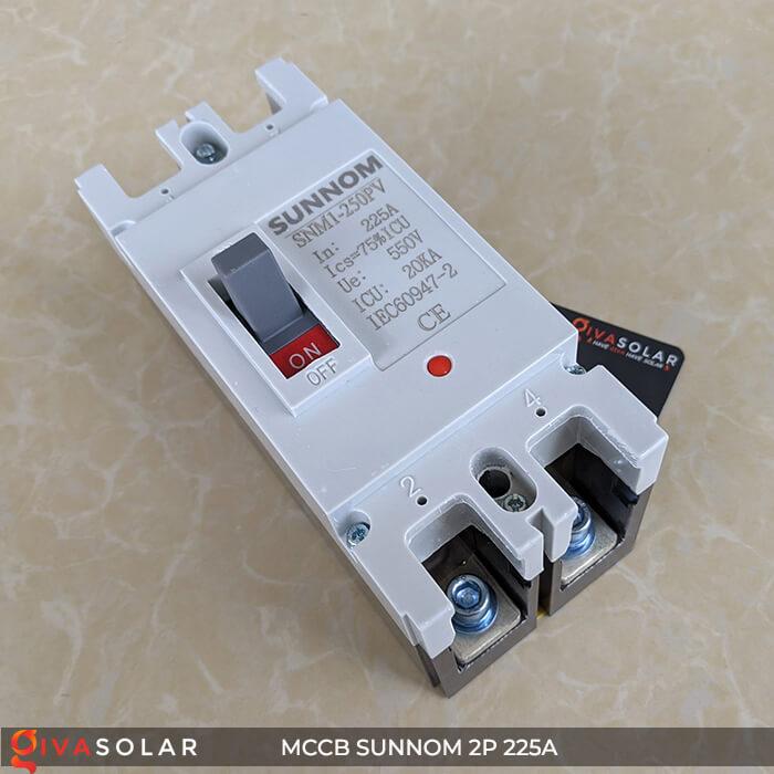 MCCB Sunnom 2P 225A 550VDC 3